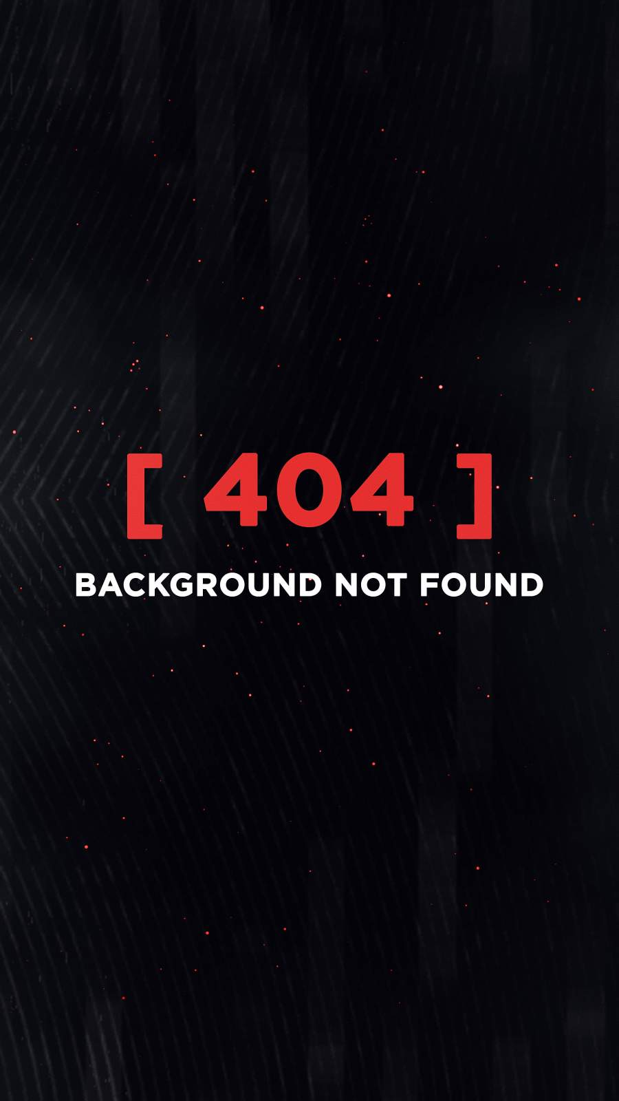 404 Not Found iPhone Wallpaper