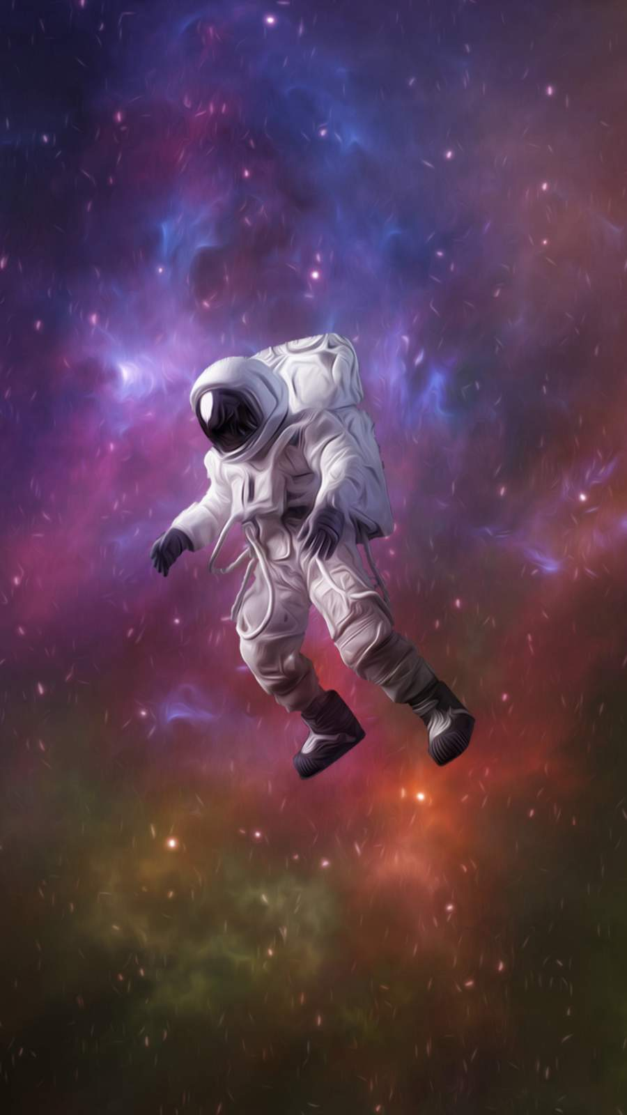 4K Astronaut iPhone Wallpaper