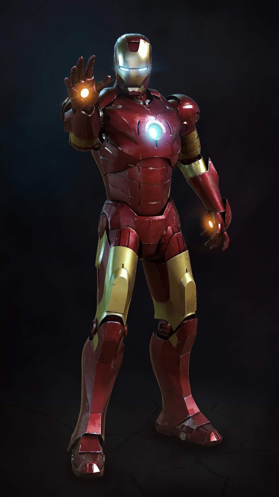 4K Iron Man 2020 iPhone Wallpaper