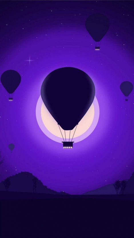 Air Balloons iPhone Wallpaper