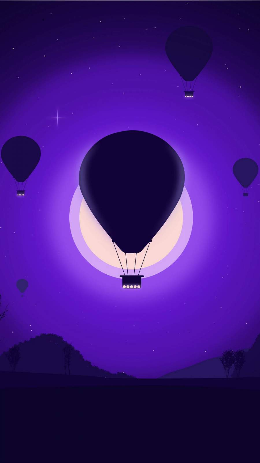 Air Balloons iPhone Wallpaper