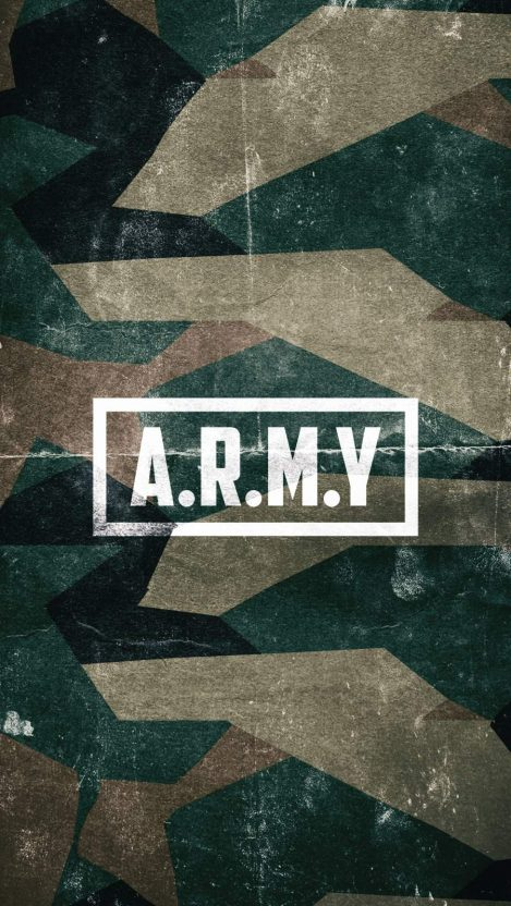 Army Texture iPhone Wallpaper