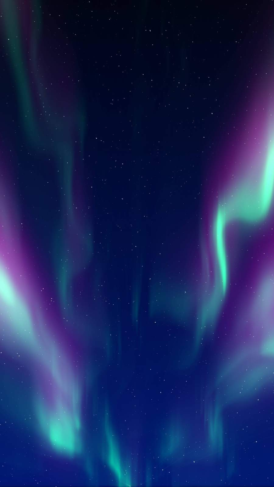 Aurora Sky iPhone Wallpaper