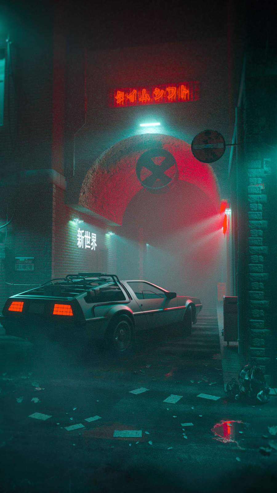 Back to the Future iPhone Wallpaper