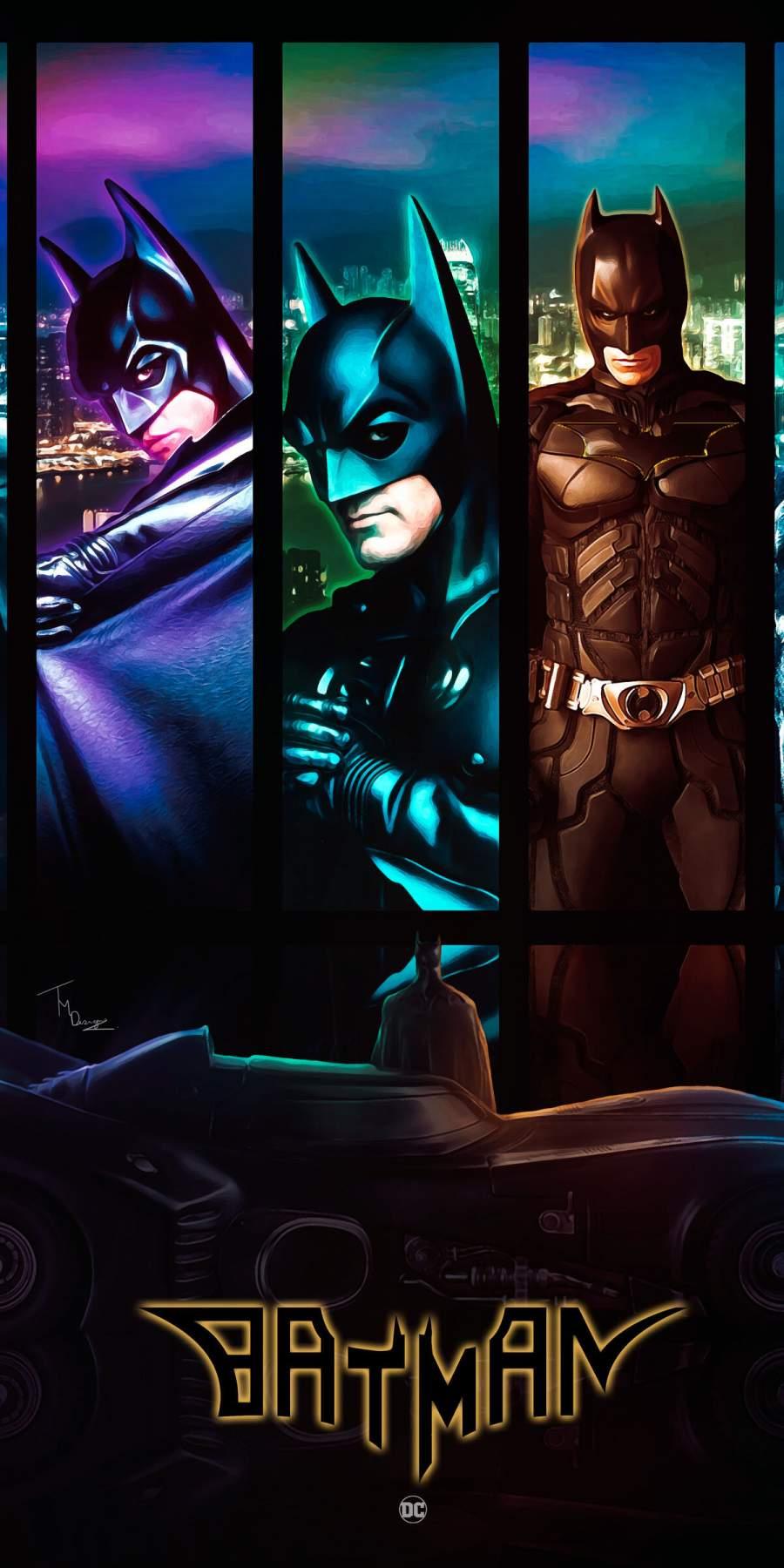 Batman Generation iPhone Wallpaper