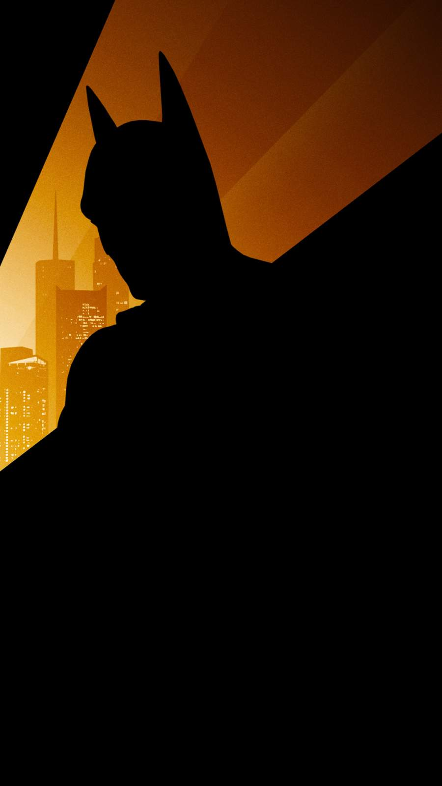 Batman Silhouette iPhone Wallpaper