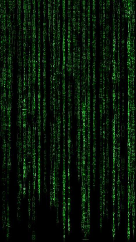 Binary Code iPhone Wallpaper