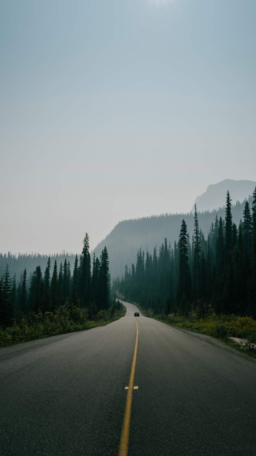 Canadian Roads iPhone Wallpaper