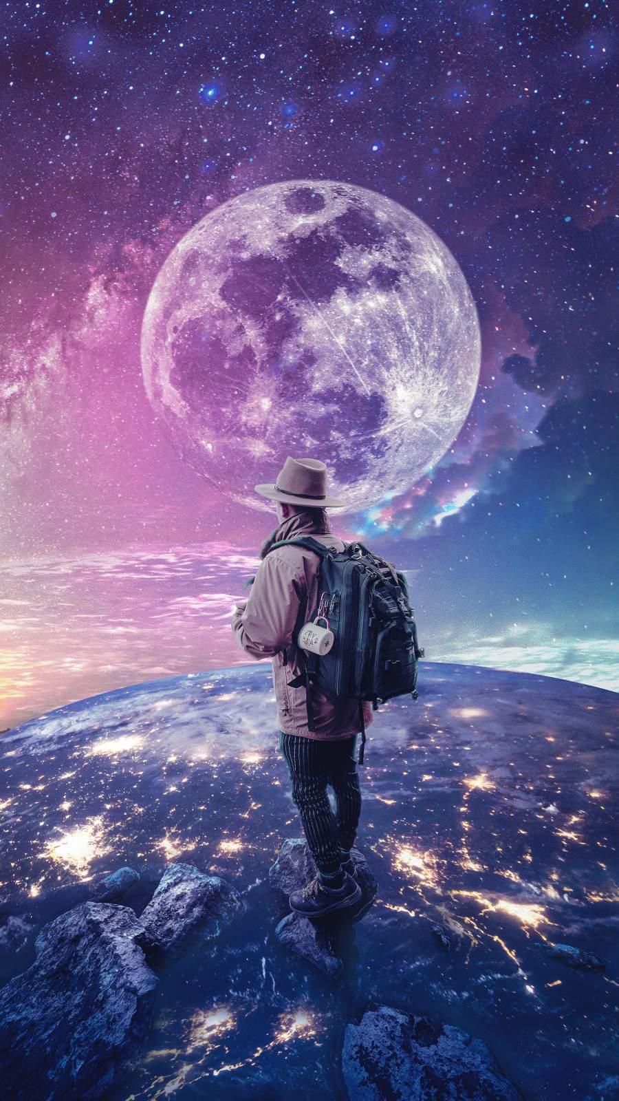 Earth Explorer iPhone Wallpaper
