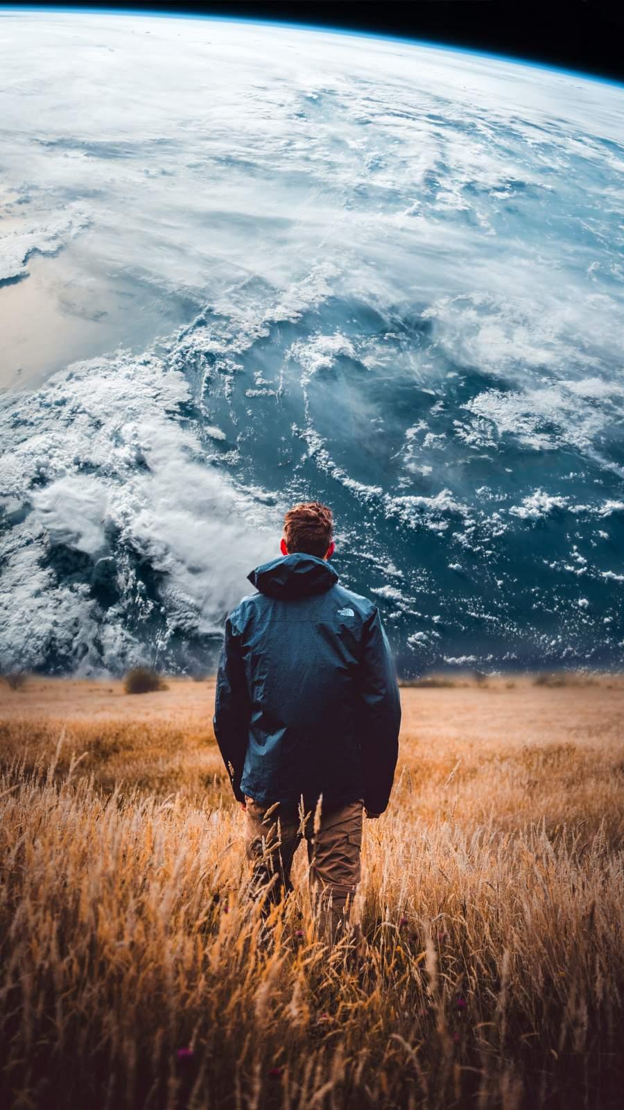 Earth World iPhone Wallpaper