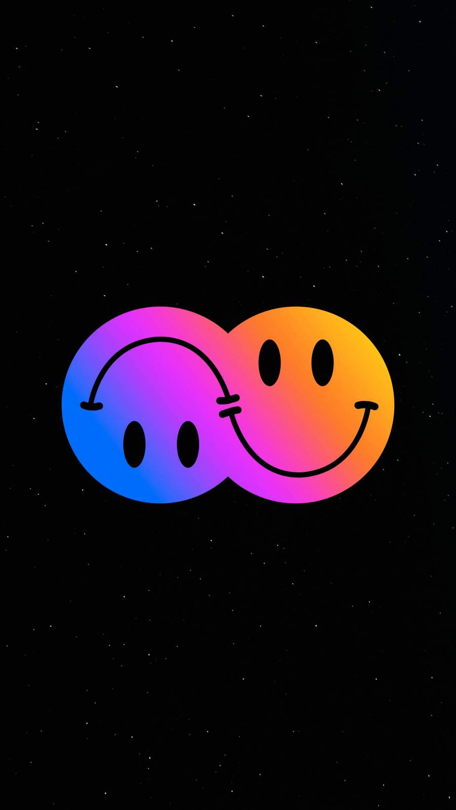 Emoticons iPhone Wallpaper