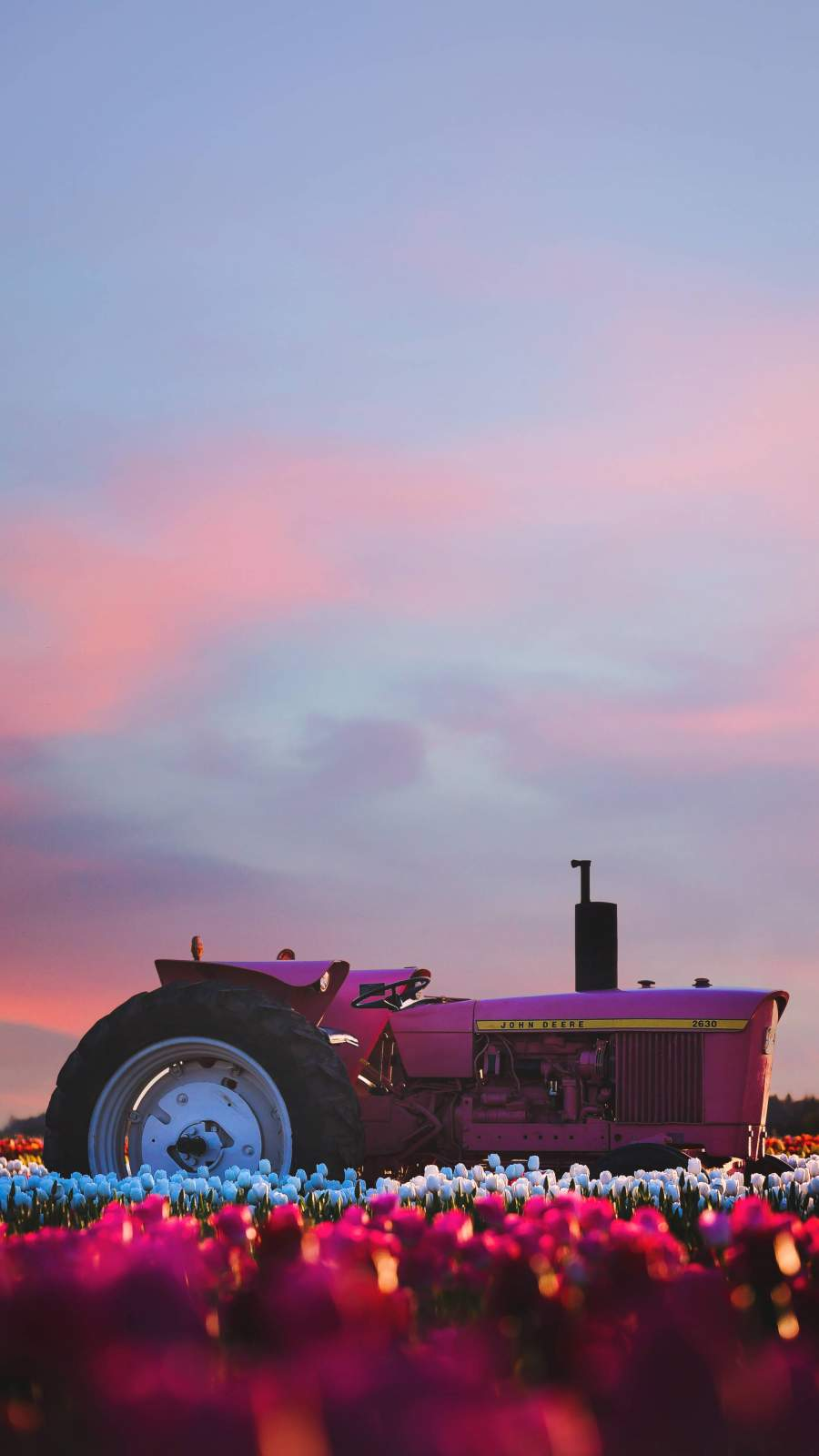 Farm Tractor iPhone Wallpaper