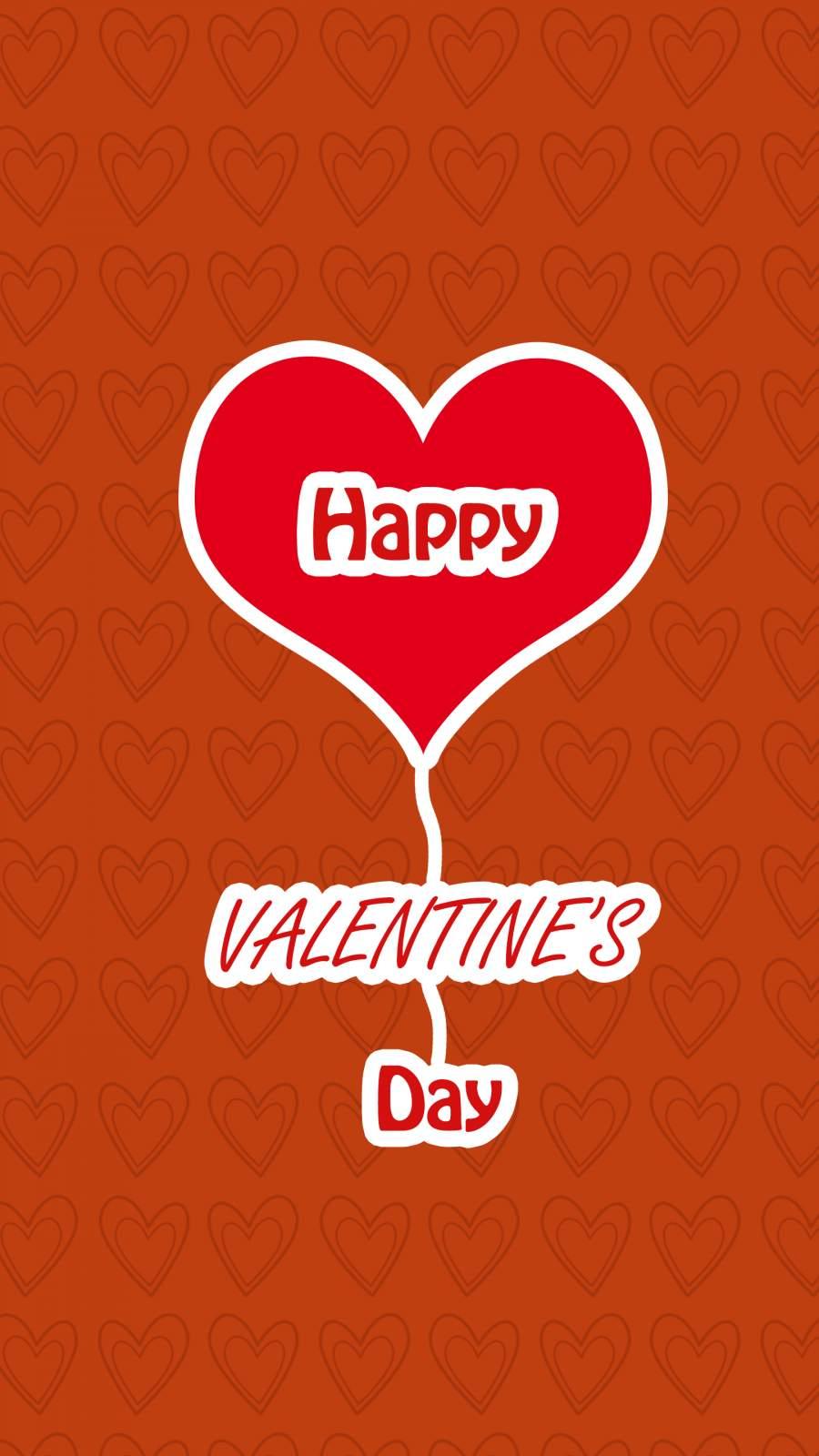 Happy Valentine Day iPhone Wallpaper
