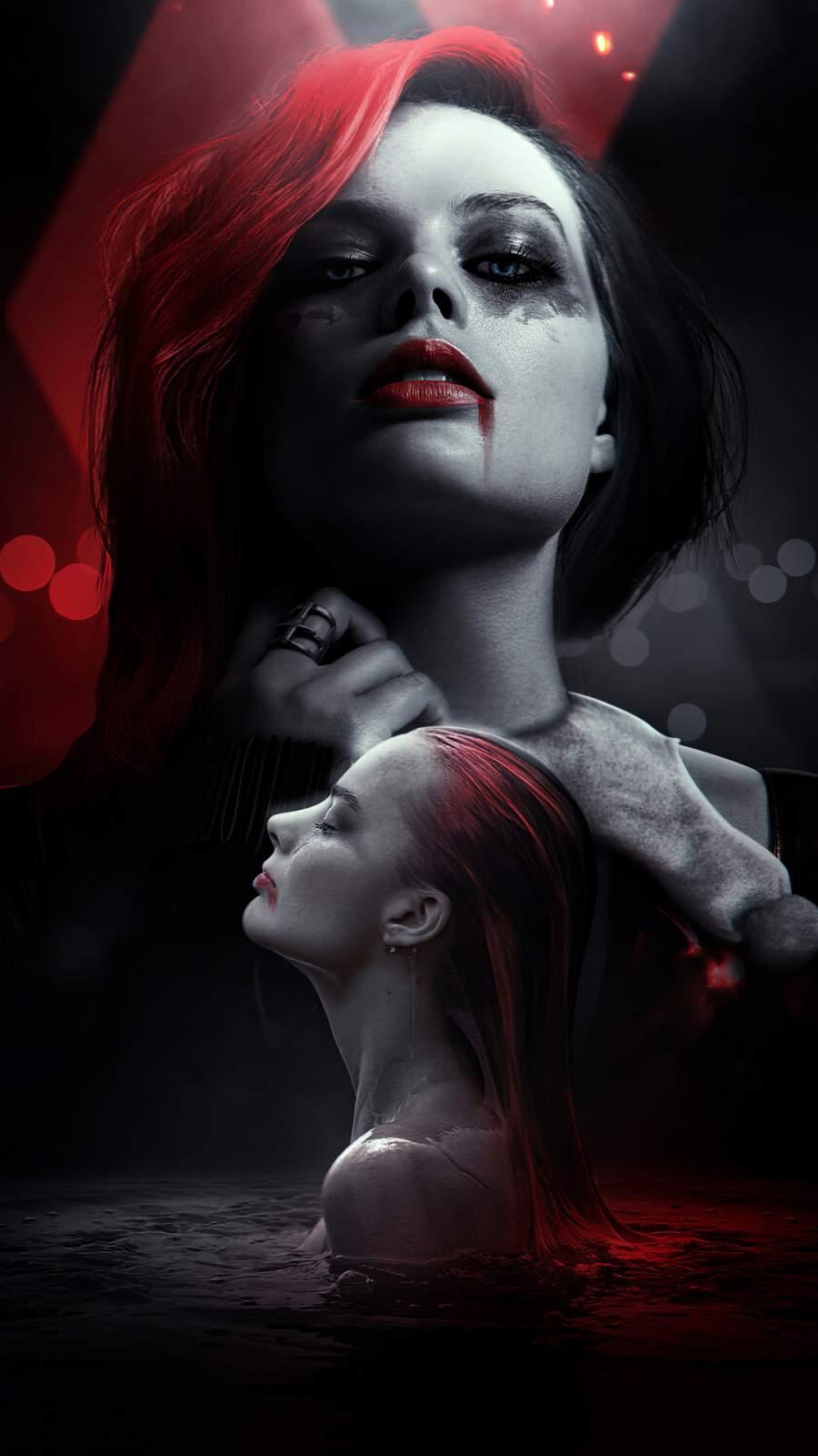 Harley Quinn 4K iPhone Wallpaper