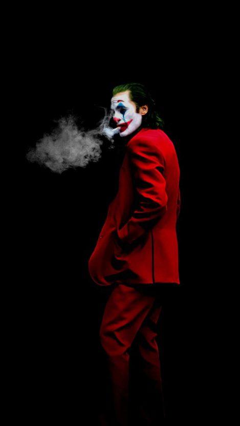 Joker Bad Guy iPhone Wallpaper
