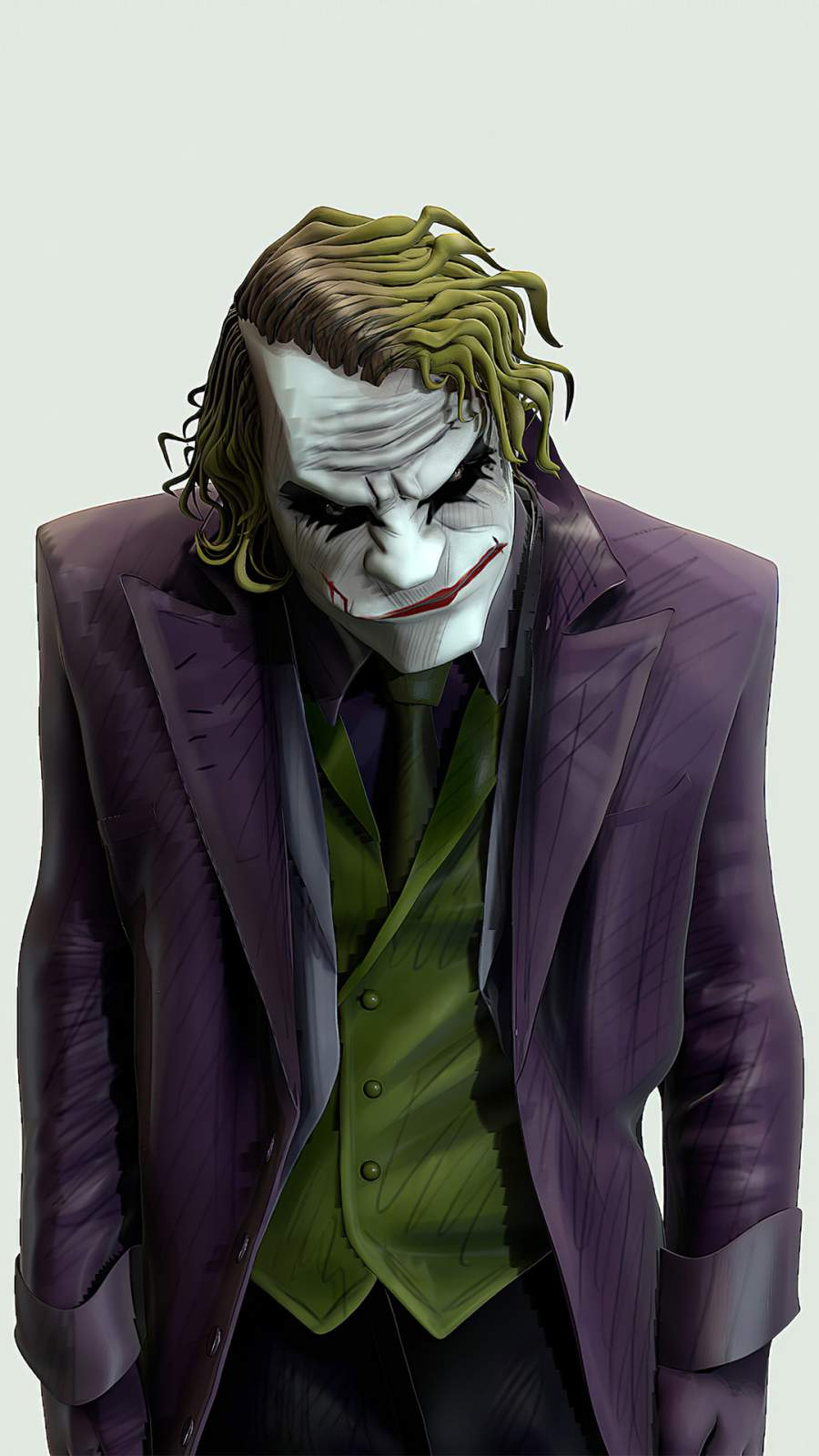 Joker Mad iPhone Wallpaper