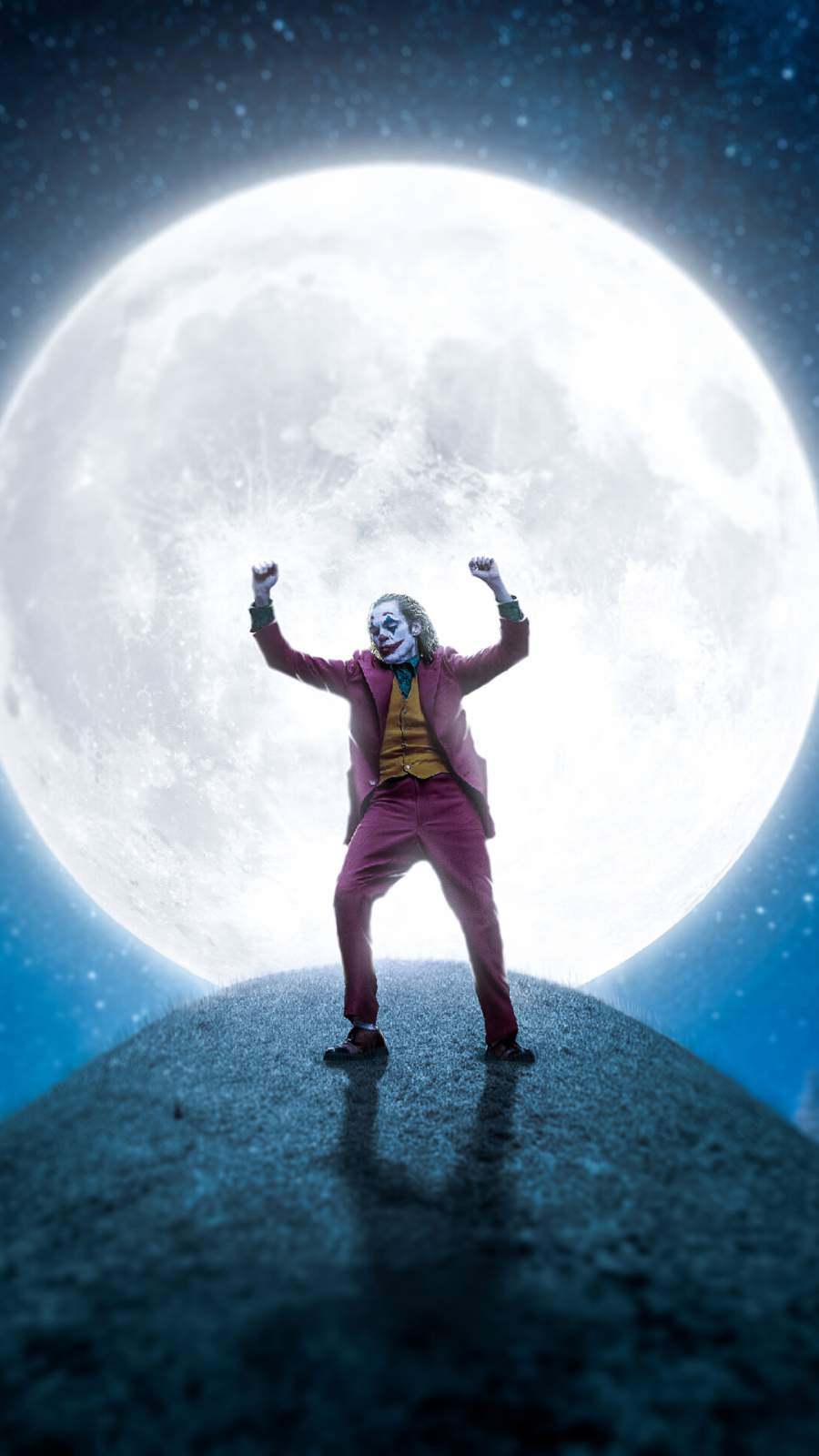 Joker Moon iPhone Wallpaper