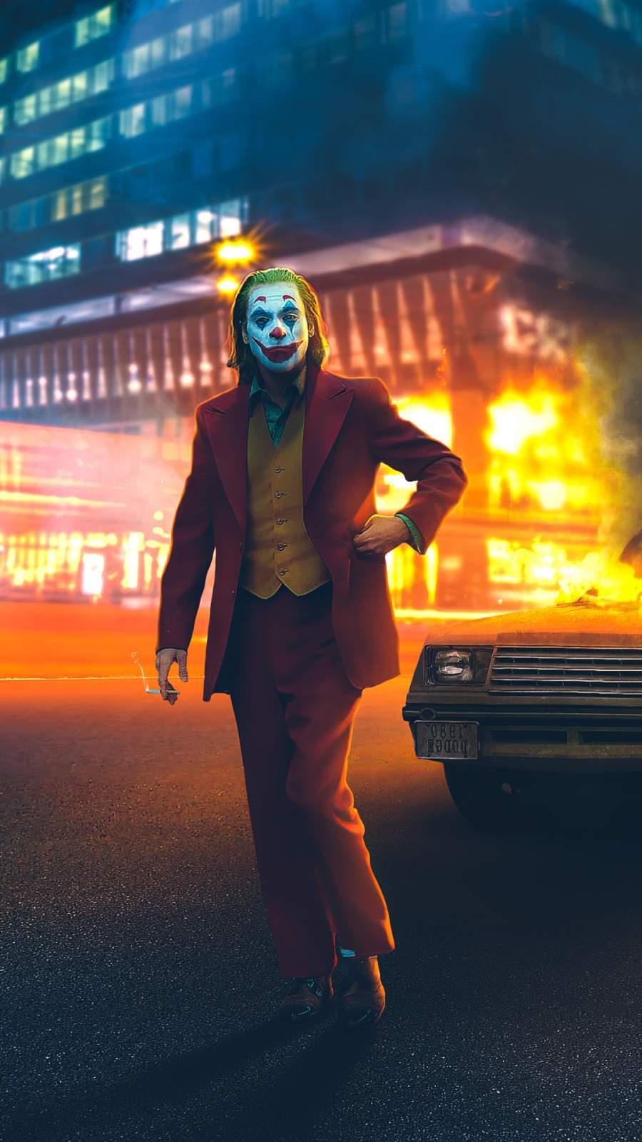 Joker Walk of Fame iPhone Wallpaper