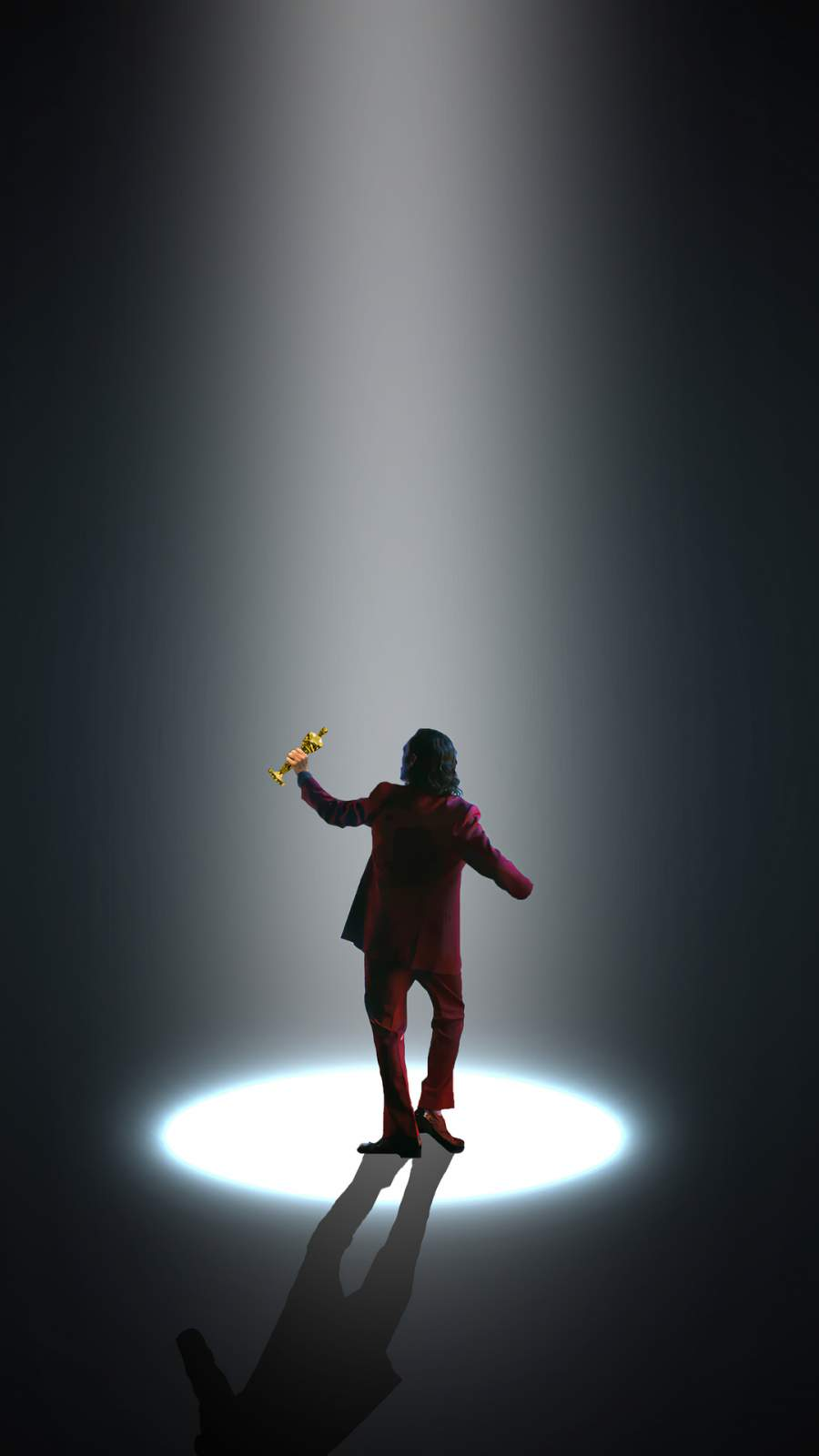 Joker won Oscar iPhone Wallpaper