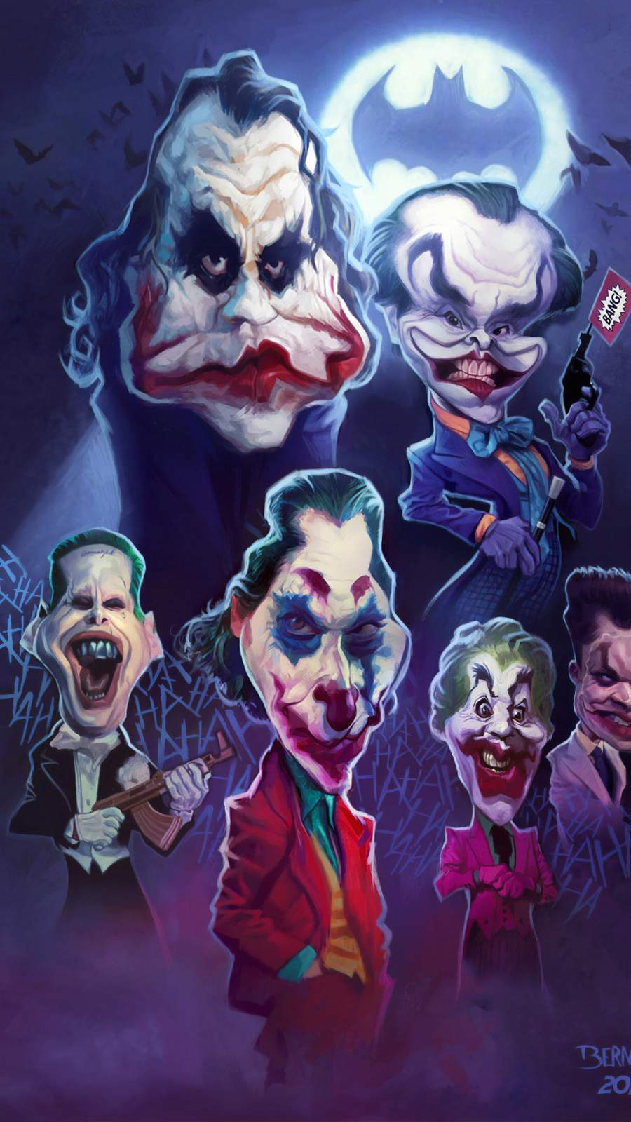 Jokers iPhone Wallpaper