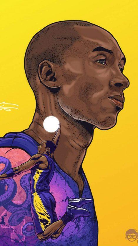 Kobe Bryant Legend iPhone Wallpaper