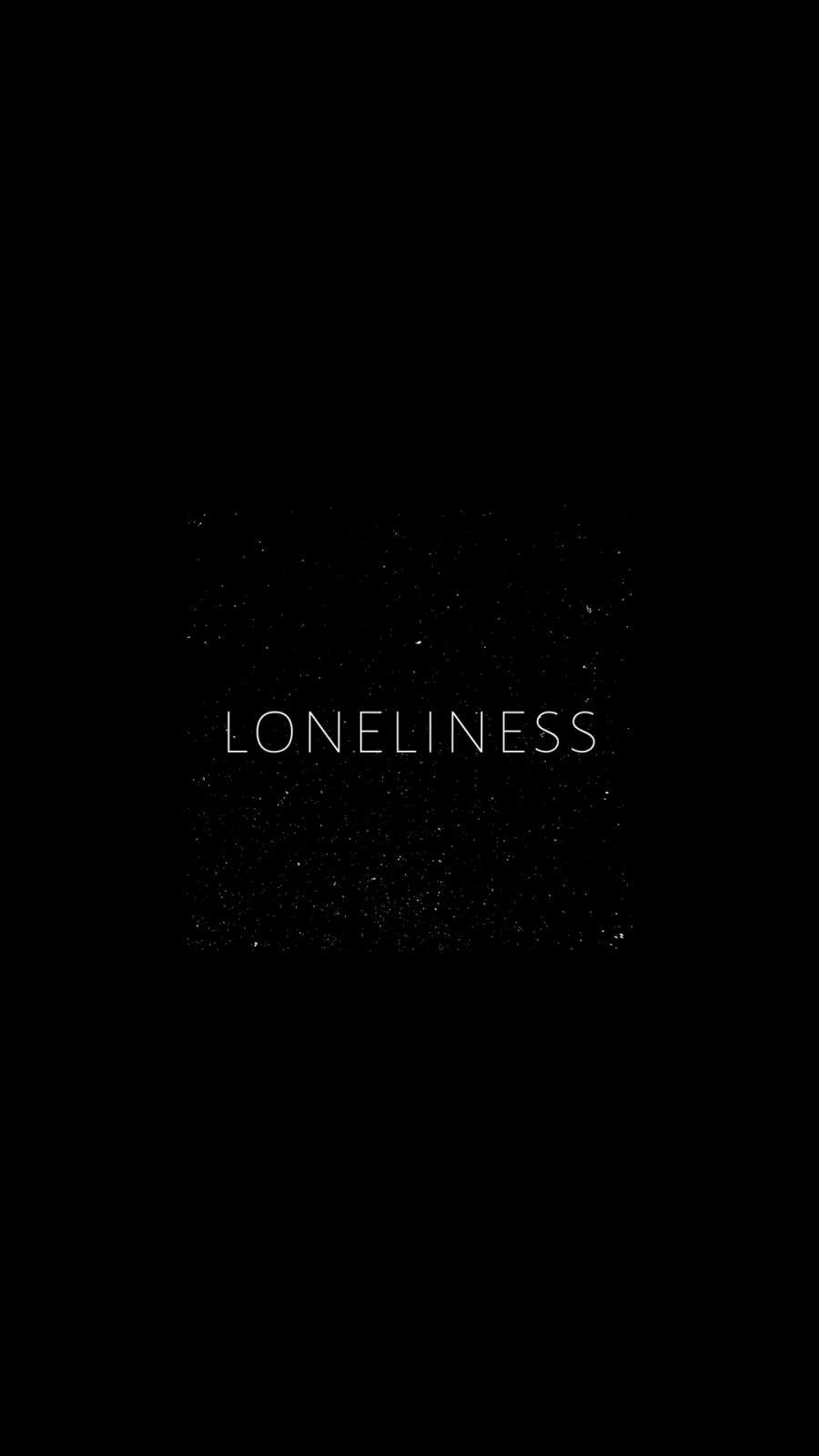 Loneliness iPhone Wallpaper