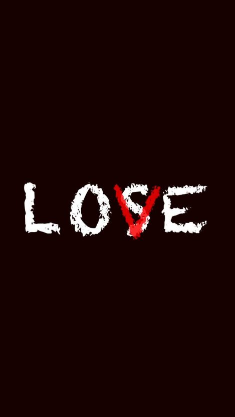 Love Lose iPhone Wallpaper