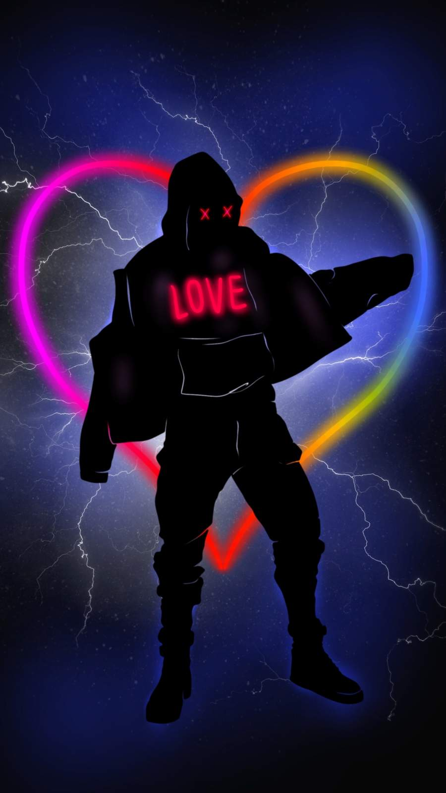 Love Man iPhone Wallpaper