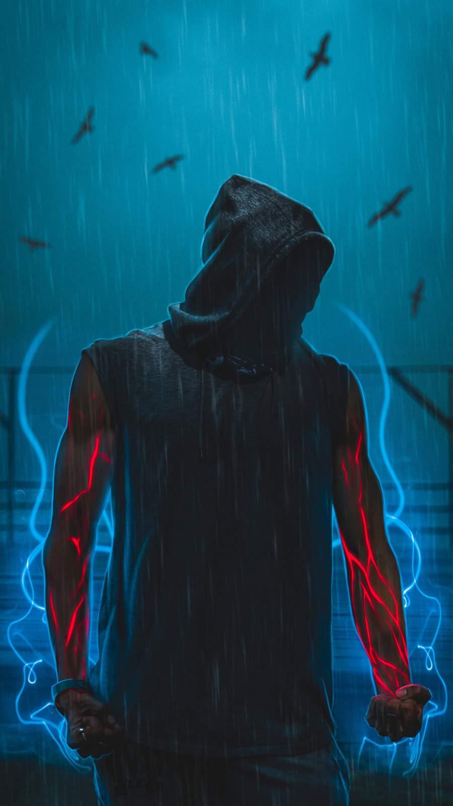 Man Power iPhone Wallpaper