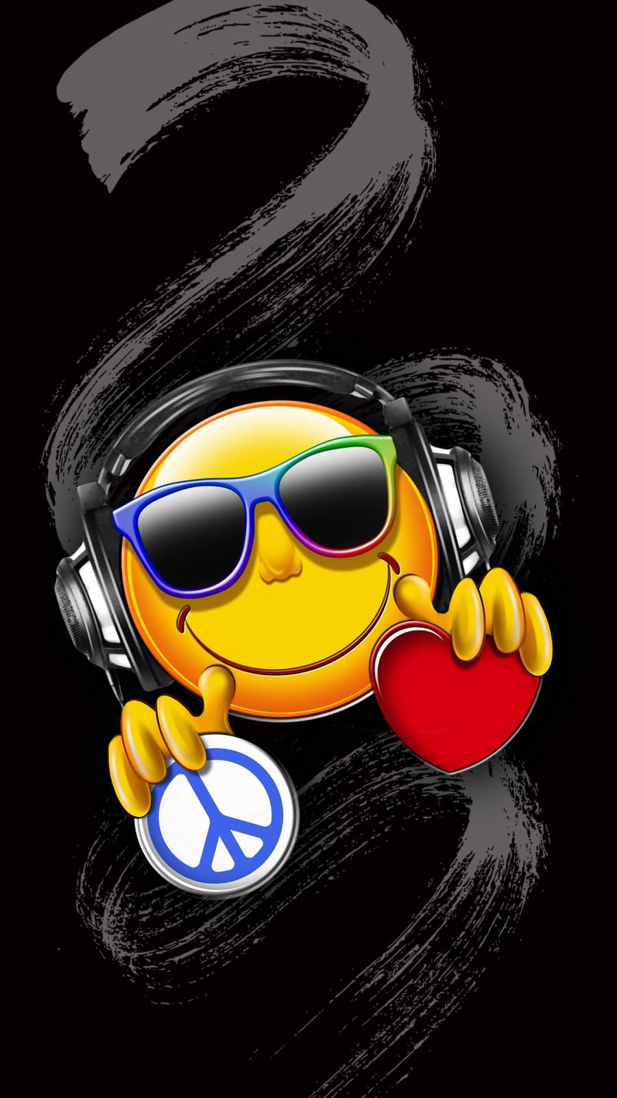 Peace n Love iPhone Wallpaper