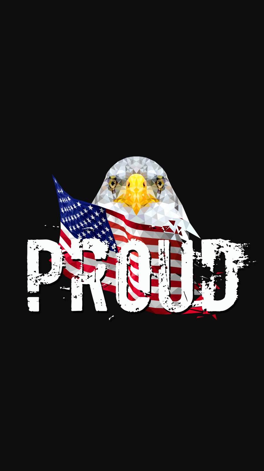 Proud USA iPhone Wallpaper