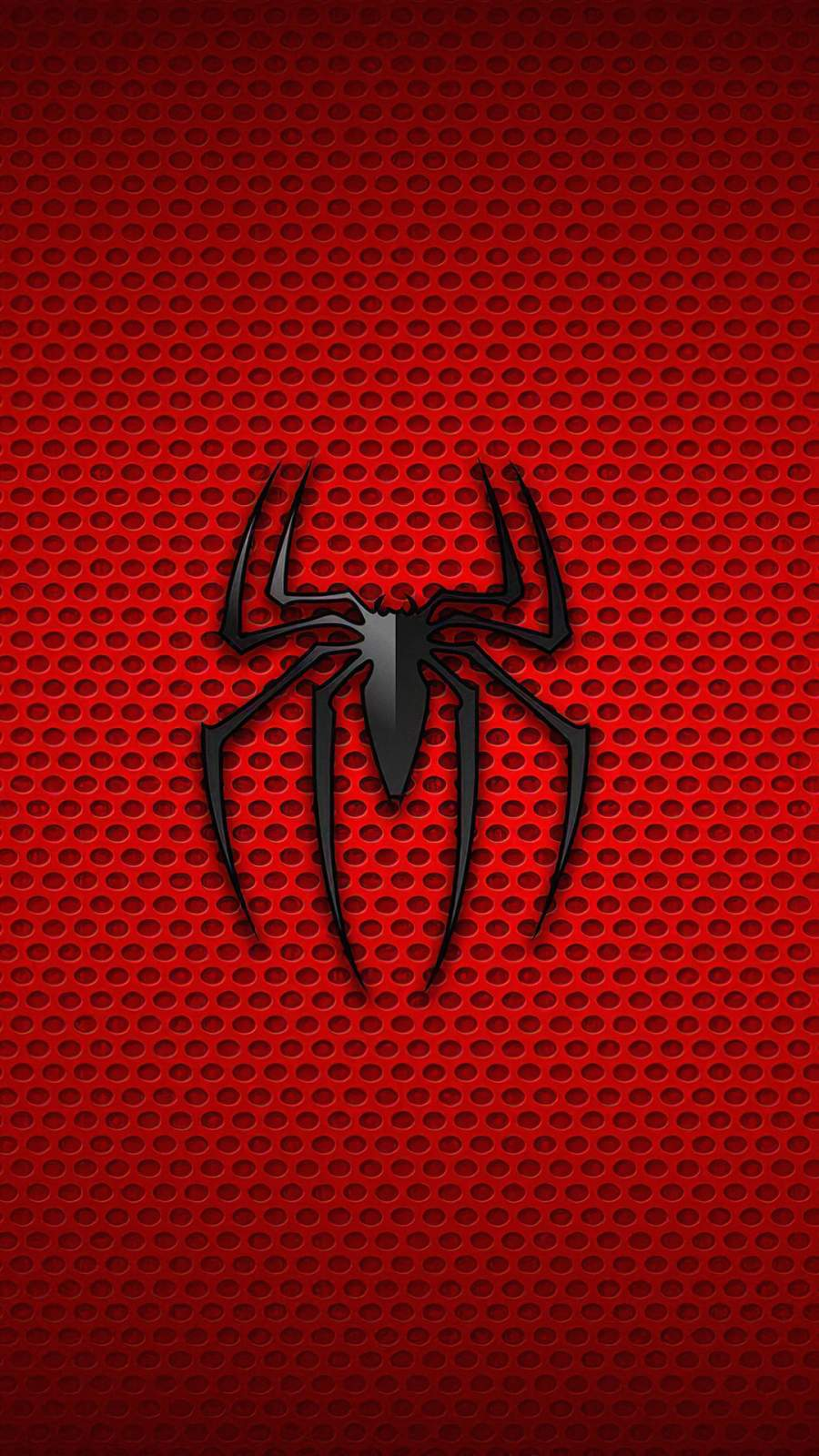 Spiderman Logo Background iPhone Wallpaper