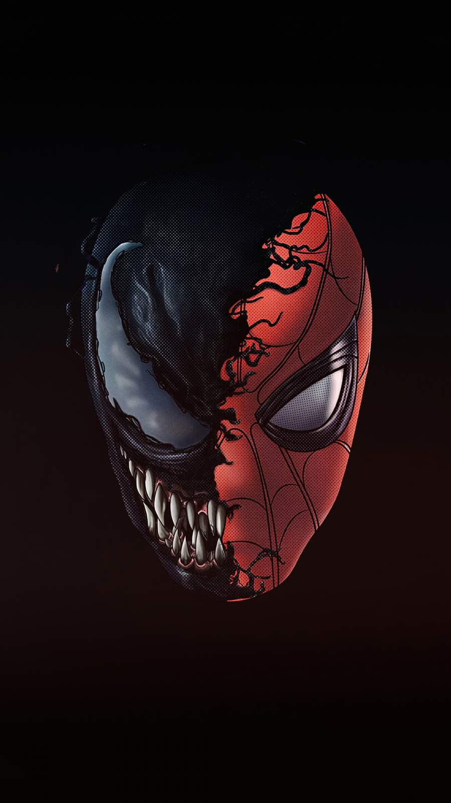 Spiderman X Venom 4k iPhone Wallpaper