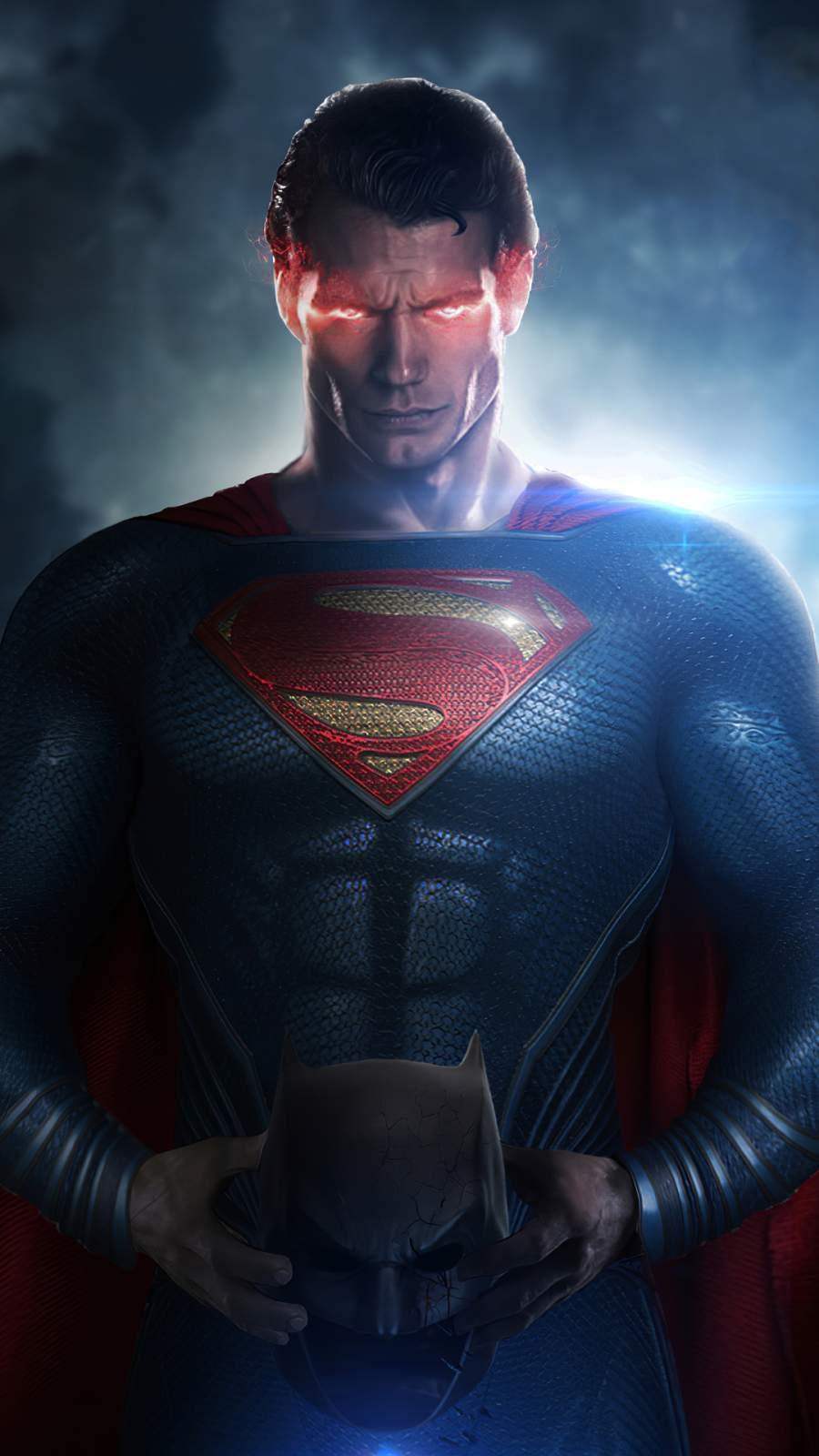 Superman Eyes iPhone Wallpaper
