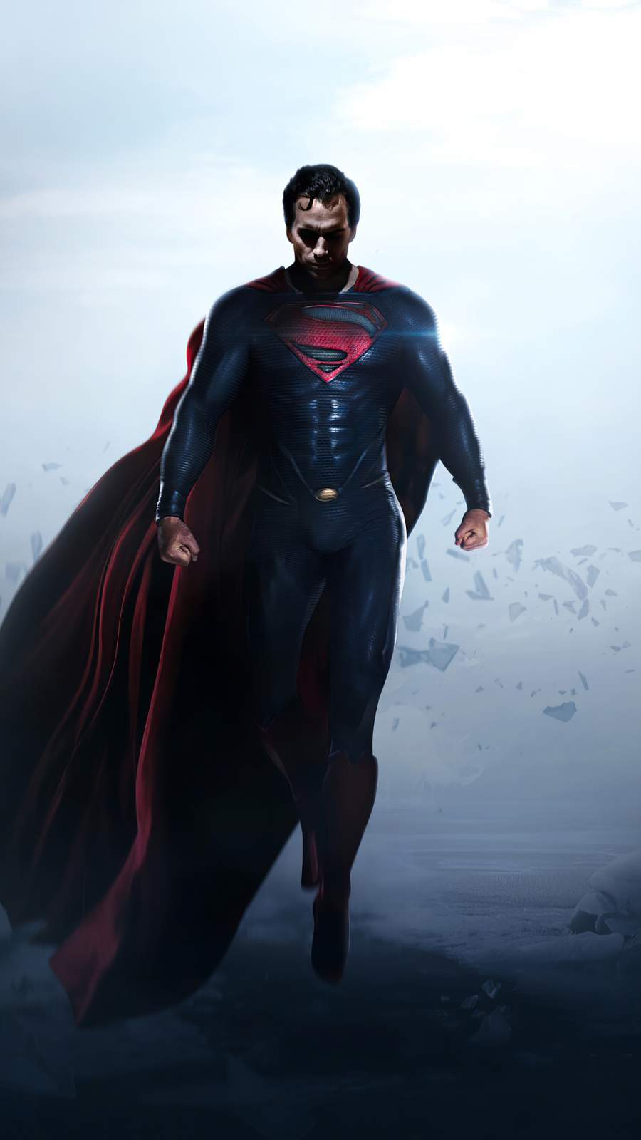 Superman x Man of Steel iPhone Wallpaper