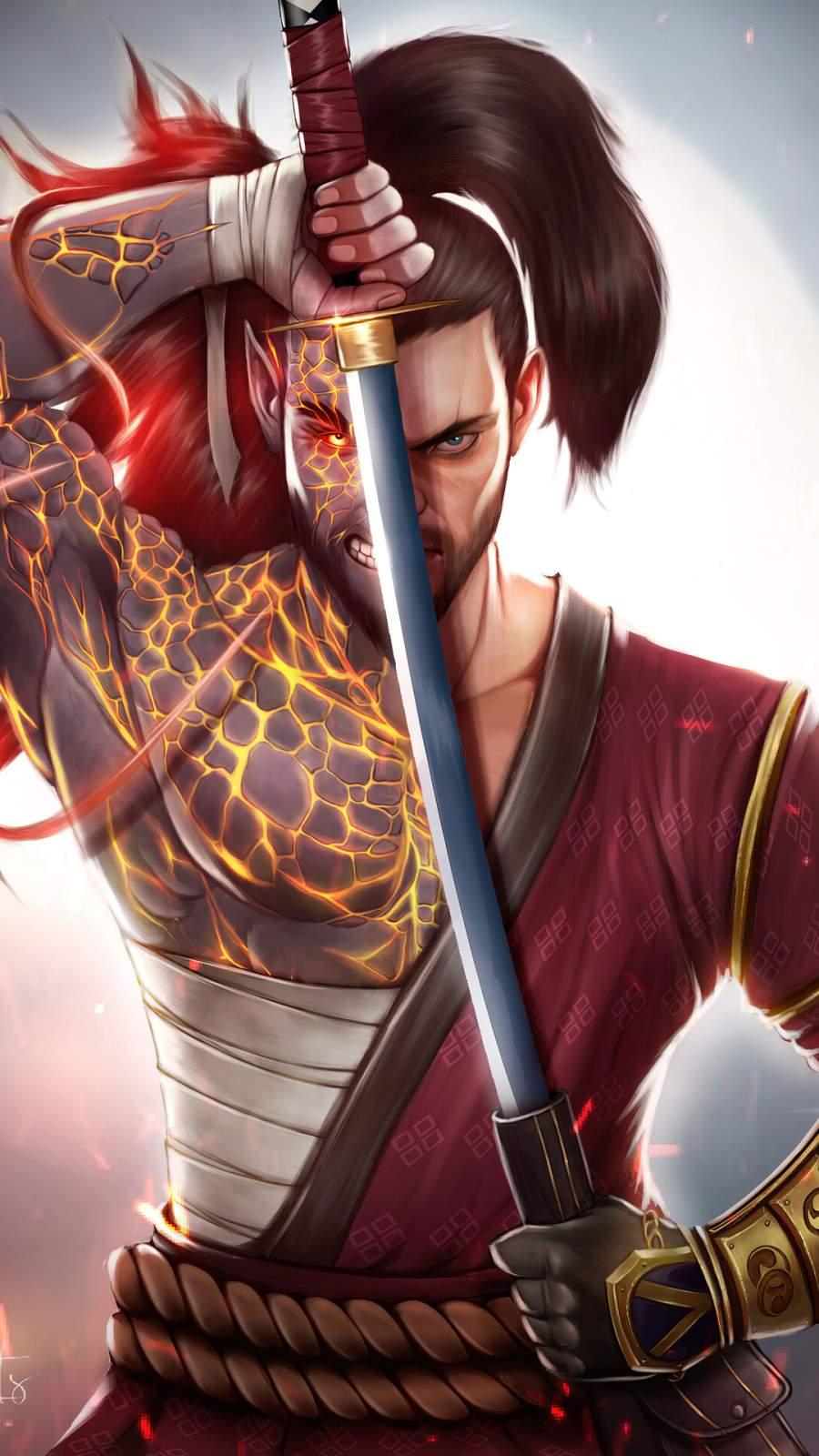 Takashi Ninja Warrior iPhone Wallpaper
