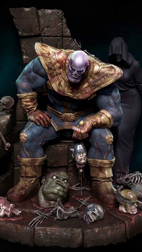 Thanos 4K iPhone Wallpaper