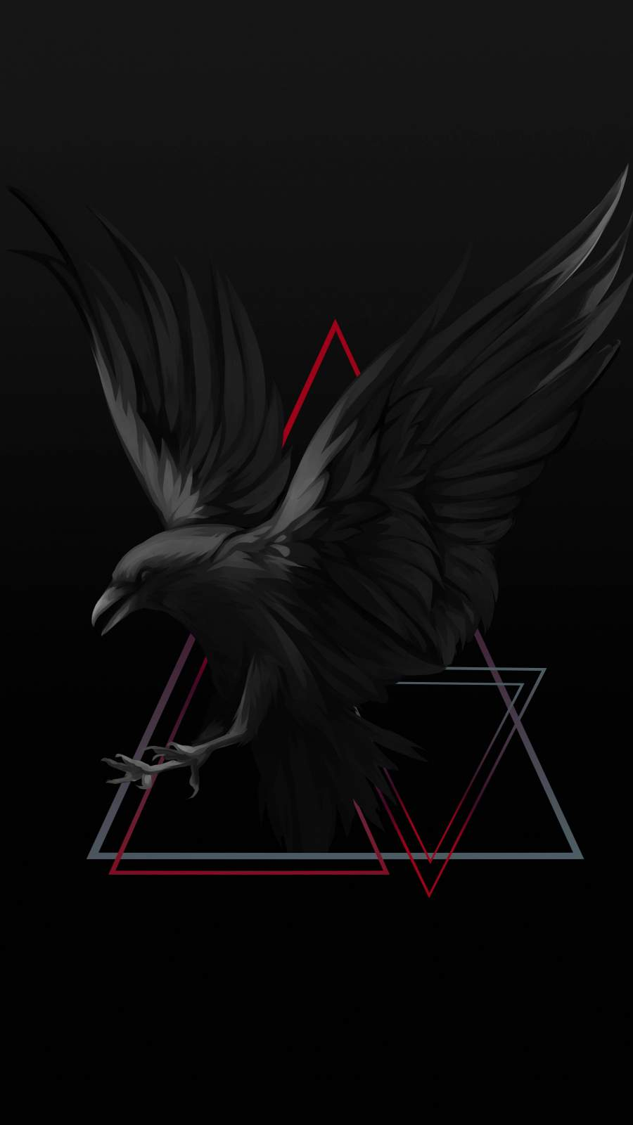 The Raven iPhone Wallpaper
