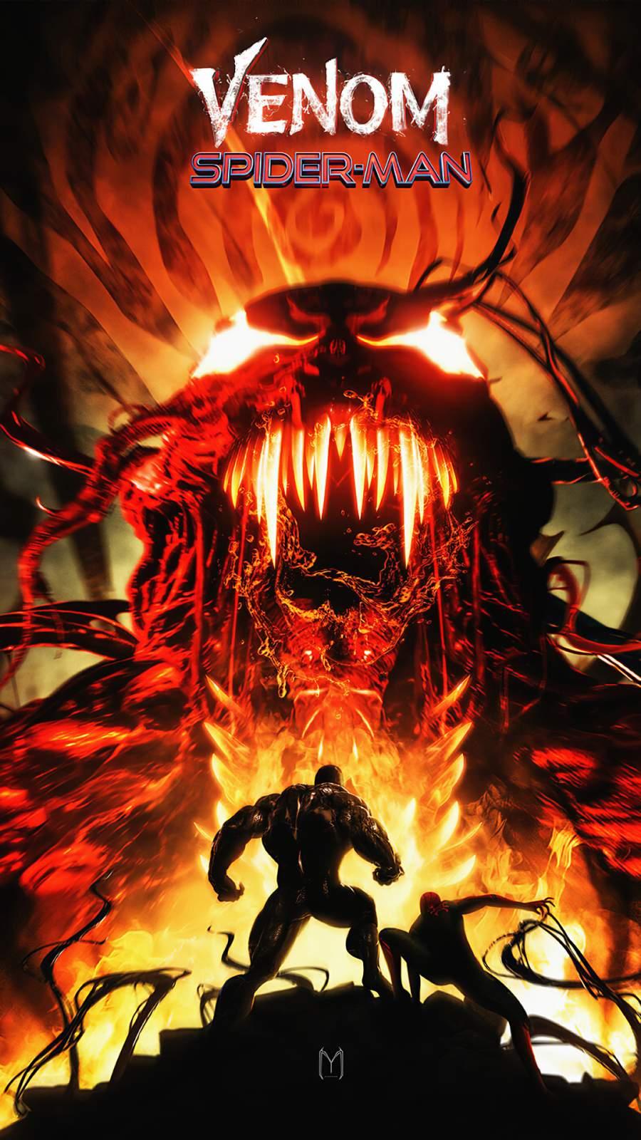 Venom 2 Poster iPhone Wallpaper