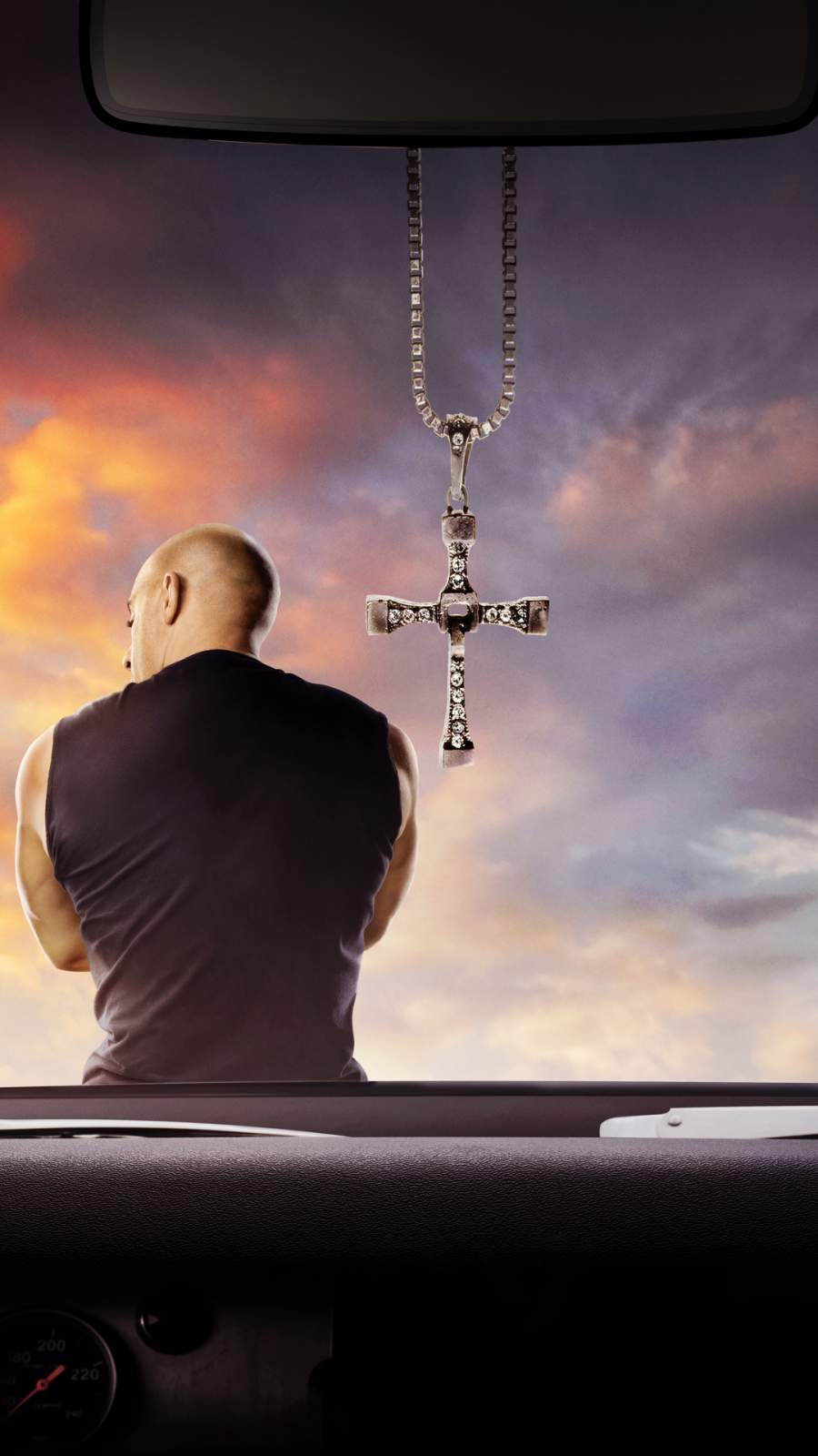 Vin Diesel Fast and Furious 9 iPhone Wallpaper 1