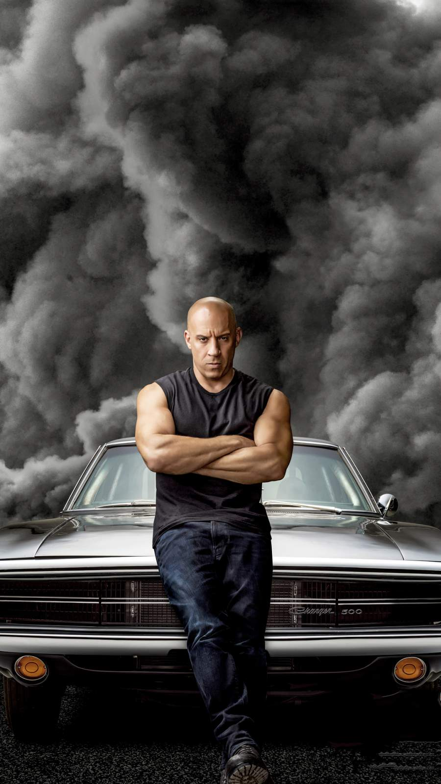 Vin Diesel Fast and Furious 9 iPhone Wallpaper