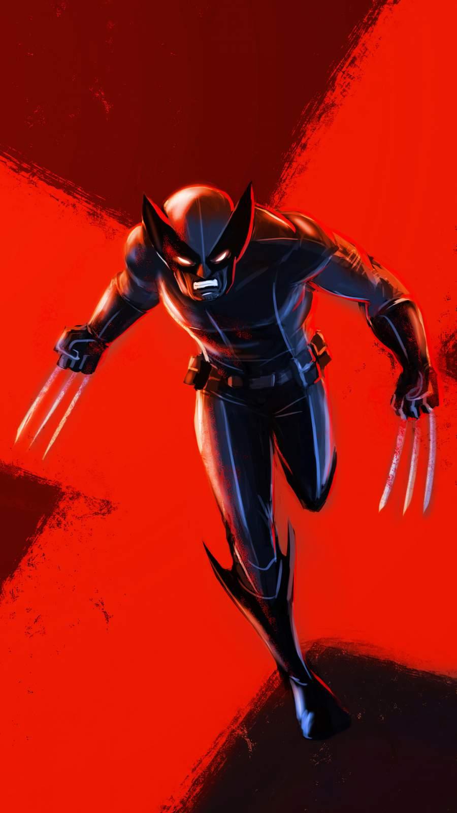 Wolverine 4K iPhone Wallpaper