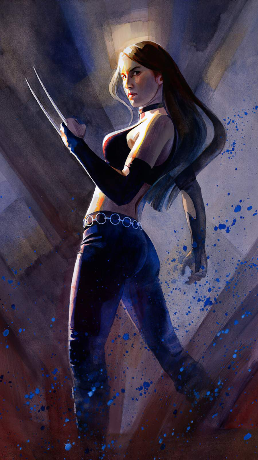 Wolverine Girl Laura iPhone Wallpaper