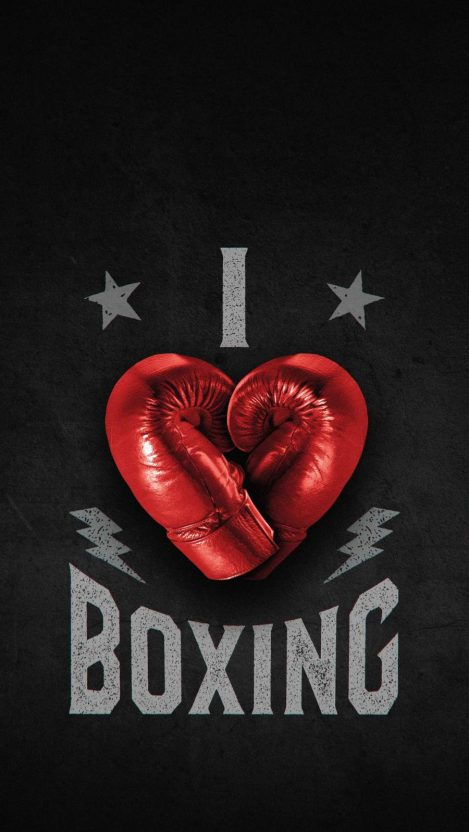 i Love Boxing iPhone Wallpaper