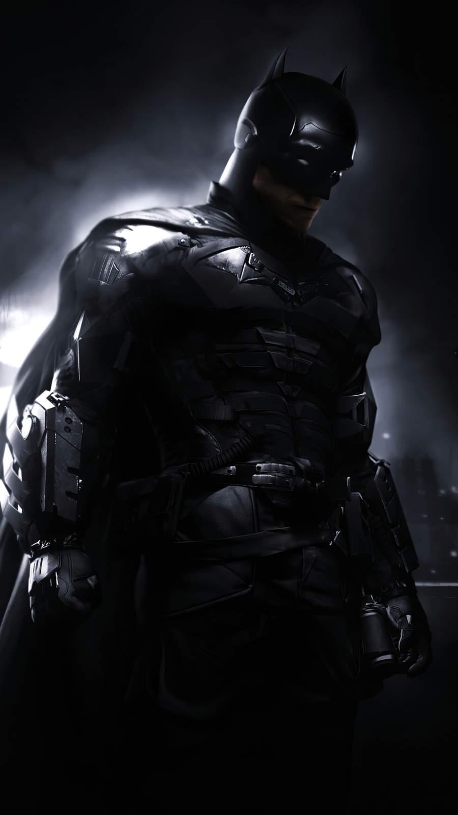 2020 Batman Robert Pattinson iPhone Wallpaper