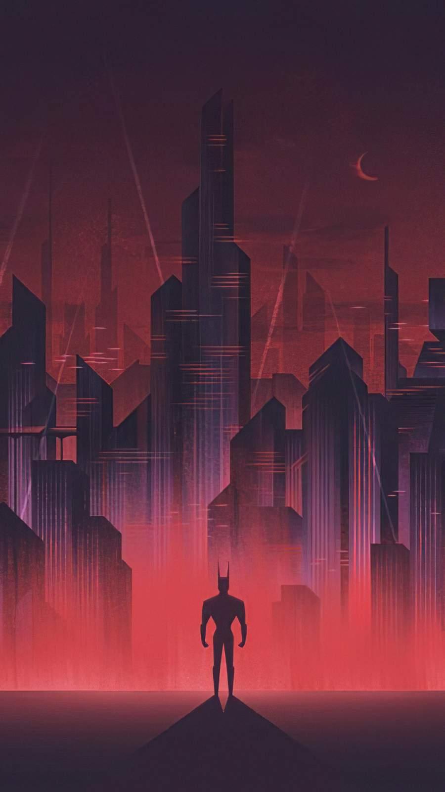 Batman Gotham iPhone Wallpaper