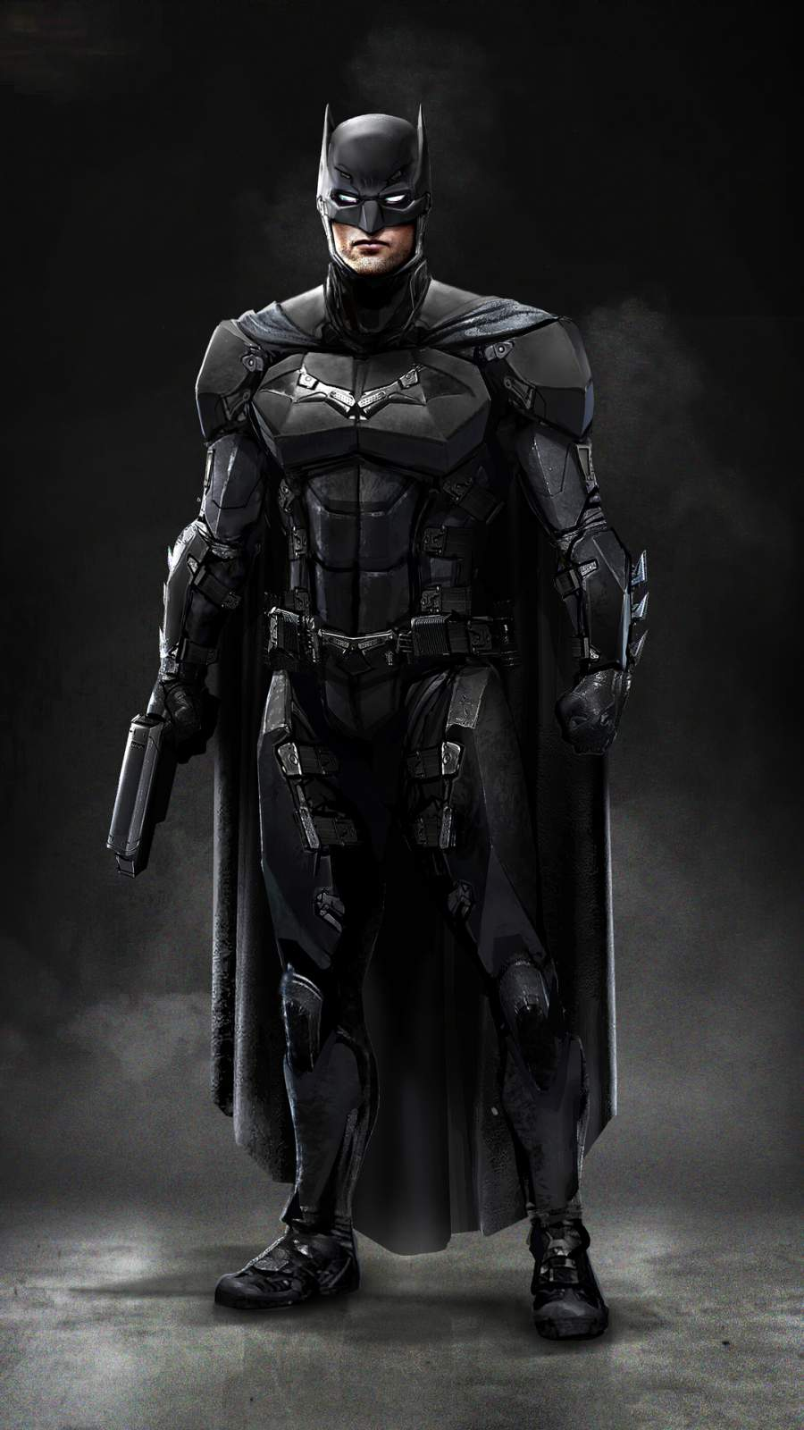 Batman New Suit iPhone Wallpaper