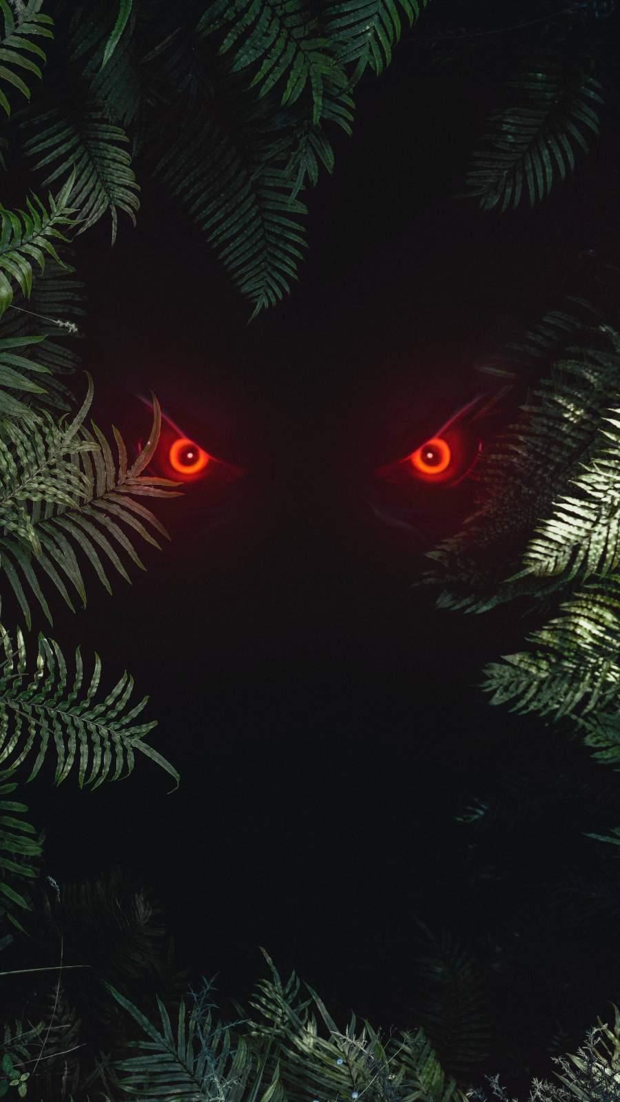 Beast Eyes iPhone Wallpaper