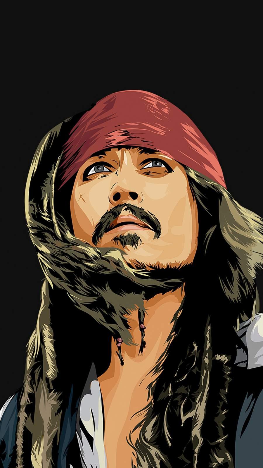 Captain Jack Sparrow iPhone Wallpaper