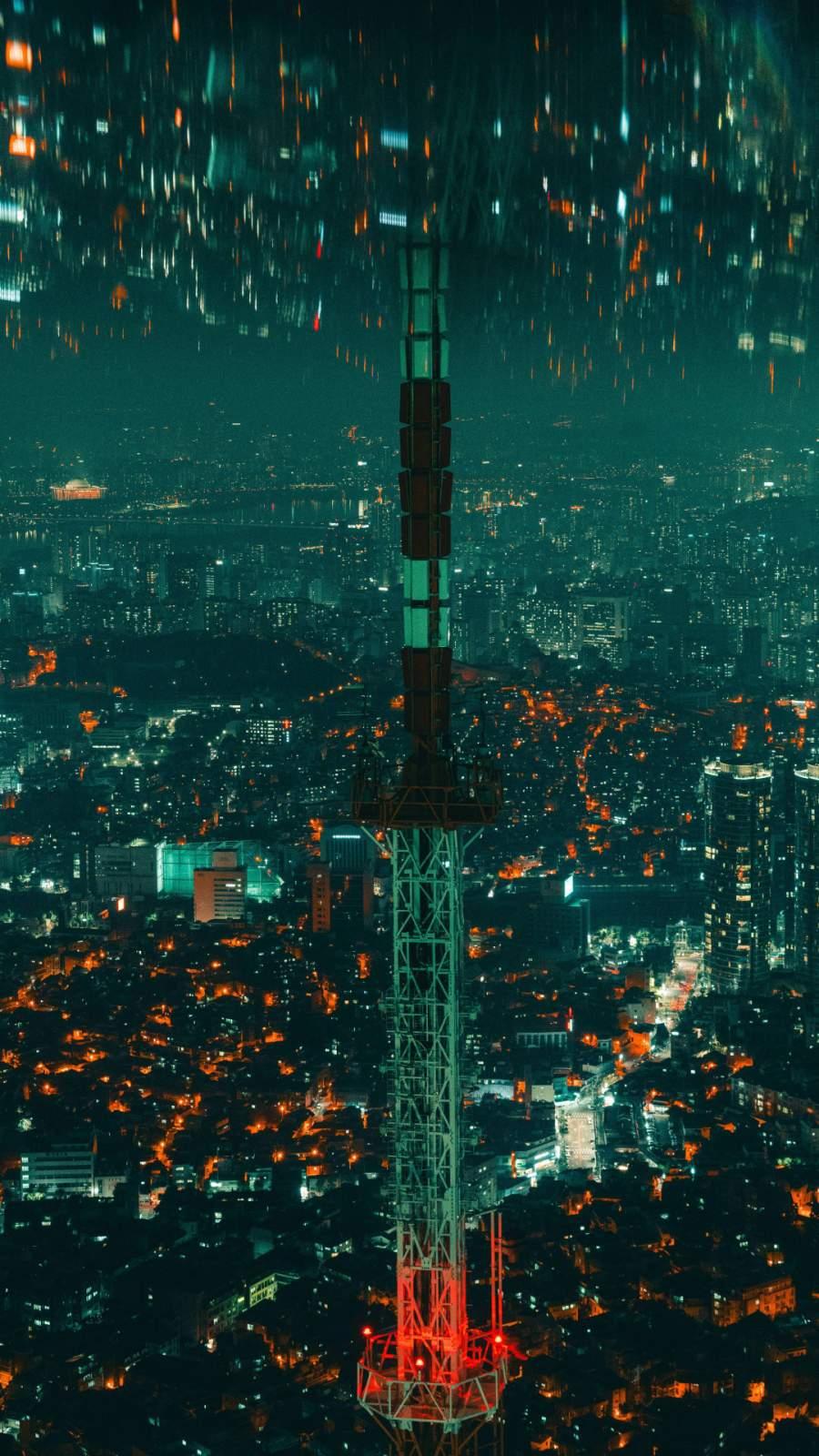 City Spire iPhone Wallpaper